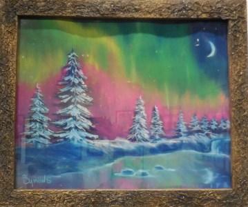 Aurora, by Tammy Symons, Virgin Valley Artists Association