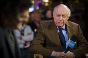 Norman Lloyd at the 2013  TCM Classic Film Festival - permission to use from Turner Entertainment Networks
