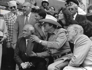 Clayton Moore gets Star on the Hollywood Walk of Fame in 1987 Provided by Dawn Moore