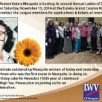 2nd Annual Women of Distinction Tea Deadline Tomorrow