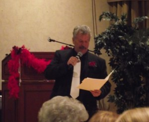 "Larry LeMieux was the Auctioneer for the evening's event ""Puttin on the Ritz"" in February of 2012."