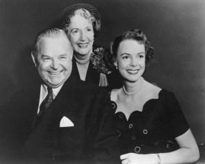 2. Gene, Kathleen, and June Lockhart in 1953 - Provided by June Lockhart