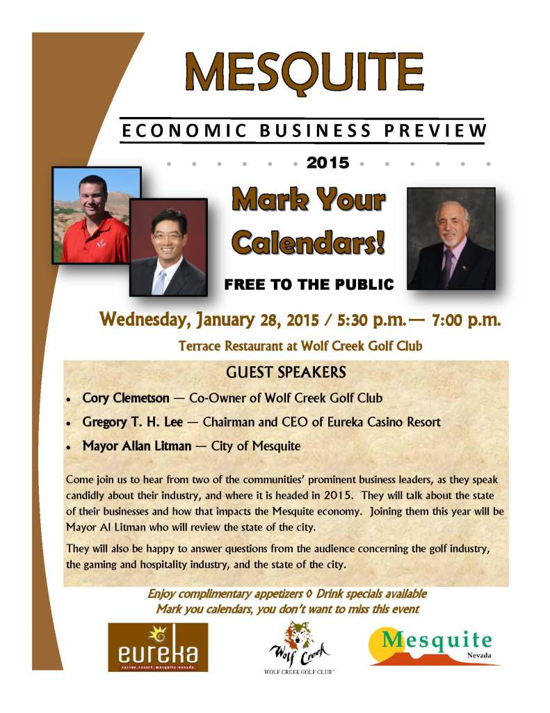 Economic Business Preview - 2015 - Flyer Revised