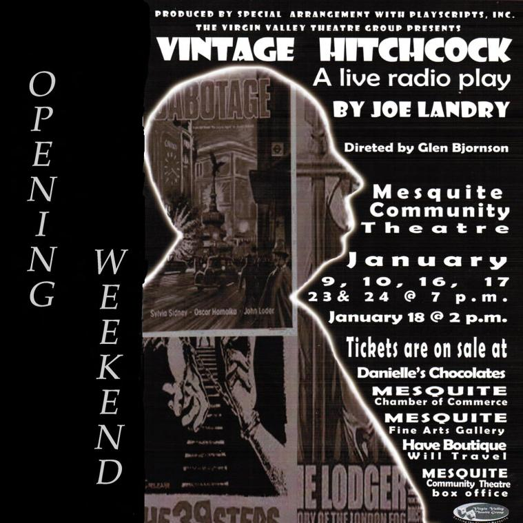 Hitchcock poster AD MLN 10 by 10