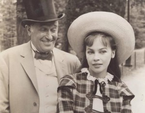Maurice Chevalier and Leslie Caron from Gigi