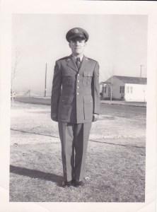 Tallman, Edward uniform