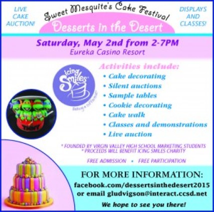 VVHS Bake Event