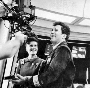 1. Still of Melanie and Bill Shatner on Star Trek V The Final Frontier - Paramount Pictures