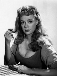 Lockhart plays Beulah, in the 1958 Gunsmoke episode Dirt - CBS publicity still