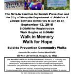 Annual Walk for Hope tomorrow