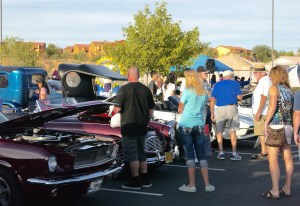 A large crowd attended the annual Rotary Car Show and Chili Cook-off at the Eureka Casino Resort on Saturday, Oct. 24. Photo by Burton Weast.