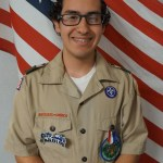 Flores receives Eagle Scout Award