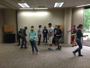 Hughes Middle School students learn leadership skills at Utah State University Leadership Camps. Local donations from businesses and individuals can help send more students to the Leadership Camps this Spring. Photo submitted.