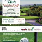 Nevada Pro Am Open for Registration