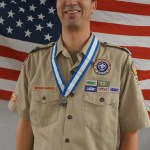 Kyle Memmott receives Silver Beaver Award