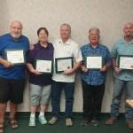 Board members received NRECA Director Training Certifications