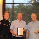 The Mesquite Police Department honored their volunteers