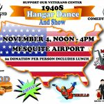 Hangar Party – Benefit for the Vets