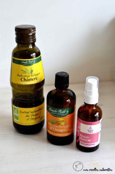 huiles végétales pour apaiser l'eczéma des enfants