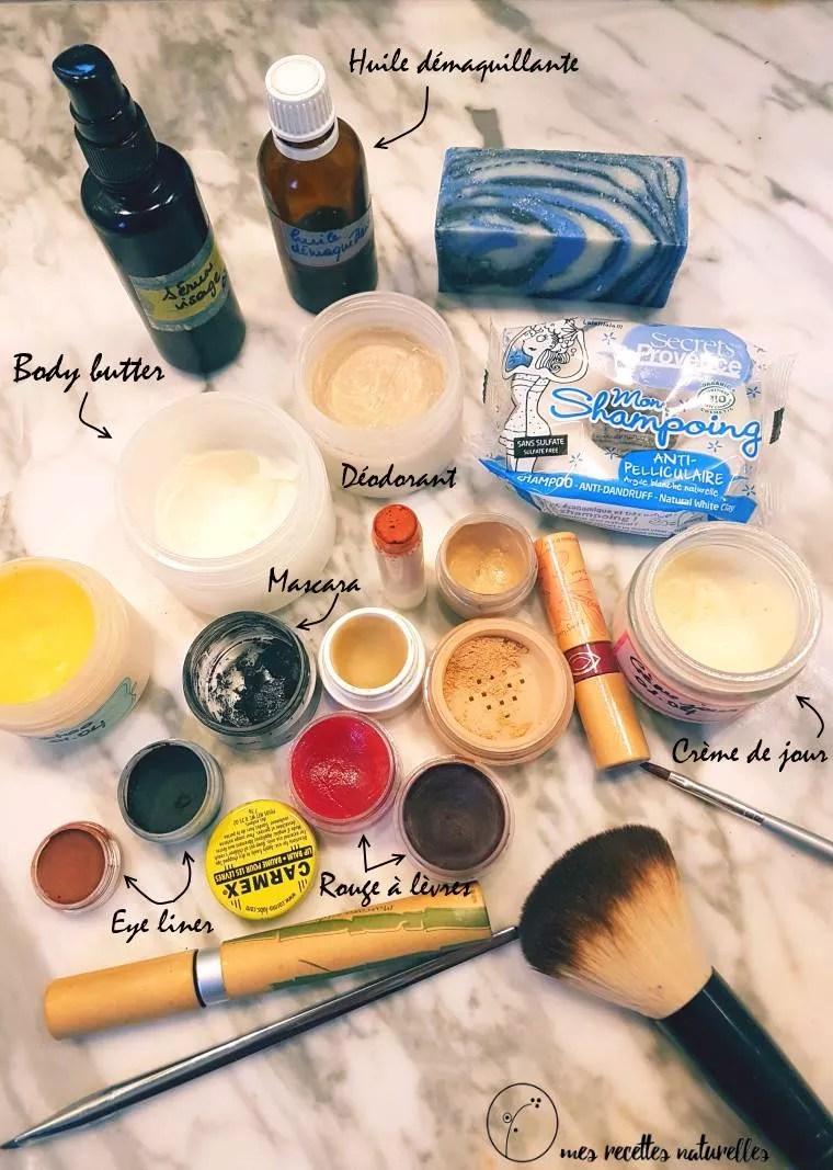 Cosmétiques zéro déchet : mes cosmétiques solides
