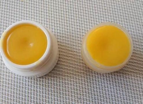 Préparation d'un baume à lèvre maison