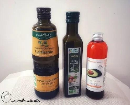 huiles végétales allergies