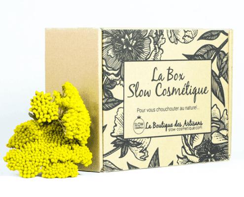 idée cadeau bio : la box slow cosmétique