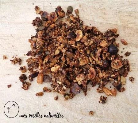 recette du granola salé