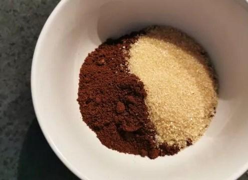 gommage café : la recette