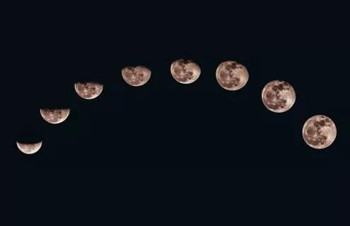 la lune et ses phases