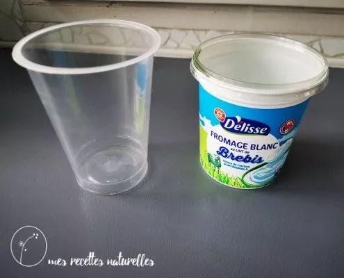 moule à savon recyclé