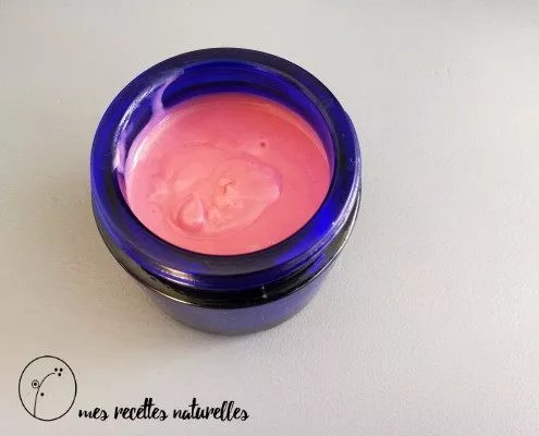 crème peau mixte au géranium et à la betterave