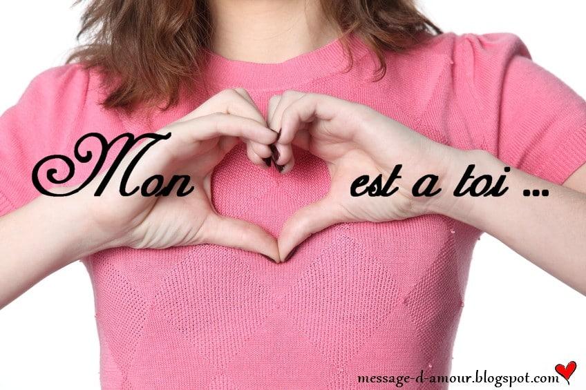 Comment surprendre son homme par sms message d 39 amour - Un gros coeur d amour ...
