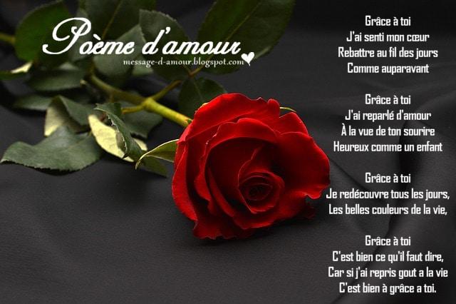 Po mes d 39 amour romantique message d 39 amour - Image d amour gratuite ...