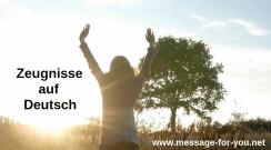 Worship God Testimonies German MFY