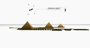 pyramide et orion