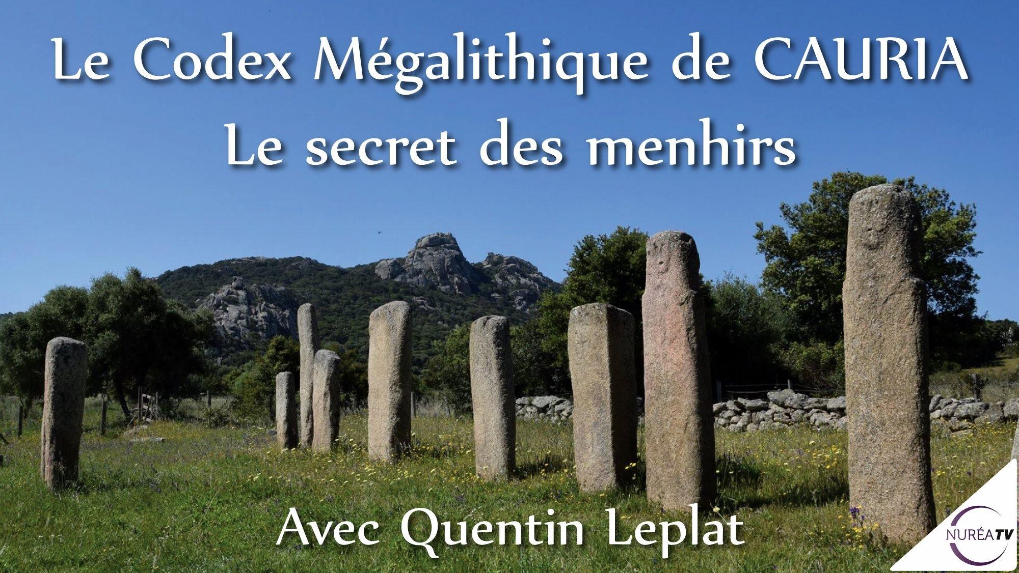 LE CODEX MÉGALITHIQUES DE CORSE DU SUD