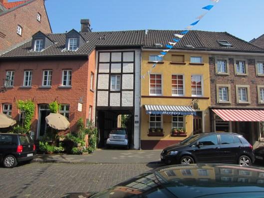 Buildings in Kaiserswerth Dusseldorf