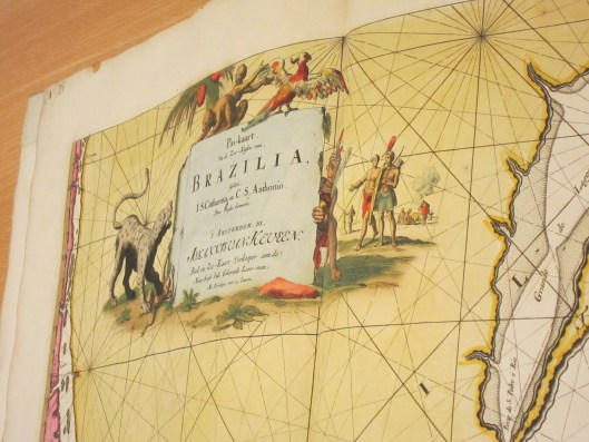 Brazil Map Adorned With Artwork in BSH Germany
