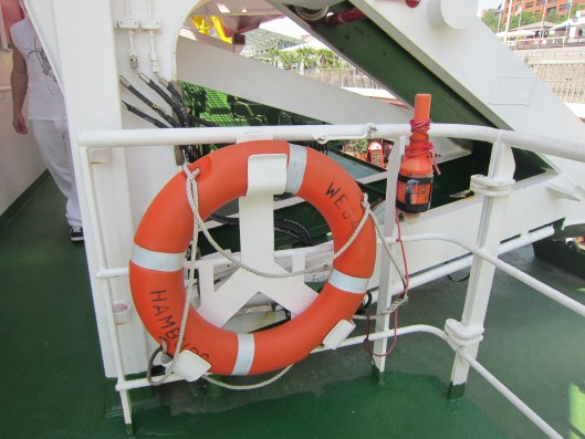 Wega Life Preserver and Emergency Beacon EPIRB