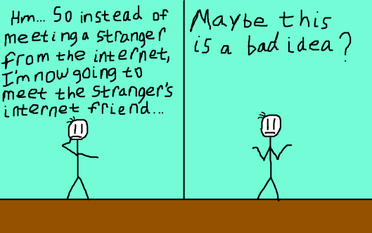 Meeting a Stranger's Internet Friend