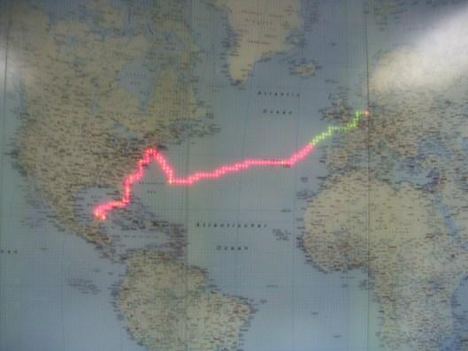 Maxim Gorkiy's Route September / October 2004