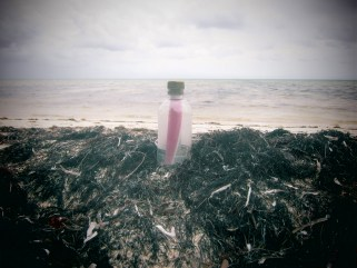 Why send a message in a bottle - Clinton and Gwen message in a bottle