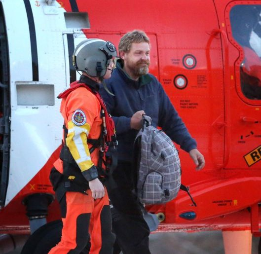Louis Jordan with Coast Guard
