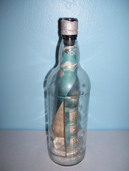 Message in a Bottle from Sara II