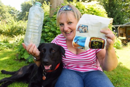 Messages in Bottles Found By Doggos - Molly the Lab with Kate Garbiel and Message in a Bottle