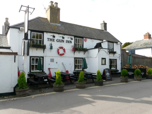 The Gun Inn, near the water where Sara II moors.