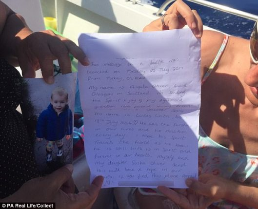 Angela's Message in a Bottle About Lucas