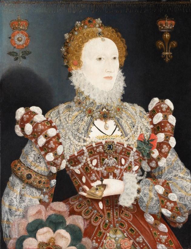 """Official Uncorker of Ocean Bottles - The """"Pelican Portrait"""" of Queen Elizabeth I"""
