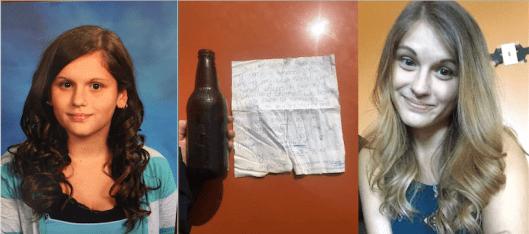 Best messages in bottles - Amanda Tattersall